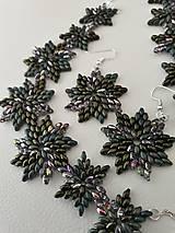 Sady šperkov - SADA Zelené hviezdy - 11617020_
