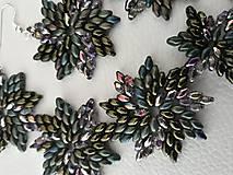 Sady šperkov - SADA Zelené hviezdy - 11617021_