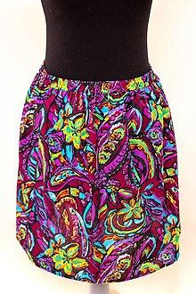 Sukne - Mini sukňa Tropical Dreams I - 11616680_