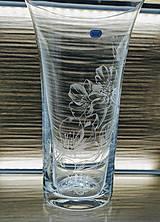 Dekorácie - Gravírovaná váza, 255mm - 11621777_