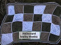 Detské doplnky - Háčkovaná deka do kočíka - 11620984_