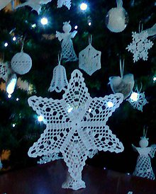 Dekorácie - Vianočná hviezda V - 11619548_