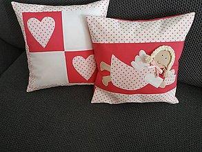 Úžitkový textil - Vankúše na želanie - 11620910_