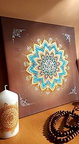 Dekorácie - Mandala stability a kreativity - 11621784_