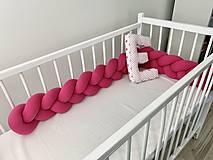 Textil - Mantinel ostrá ružová - 11621060_