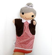 Hračky - Maňuška babička (klasická) - 11620062_