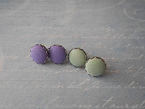 Náušnice - Buttonky I. - DARČEK - 11620635_