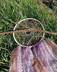 Dekorácie - Lapač snov - Ružový Šaman pre veľké aj malé ženy - 11619266_