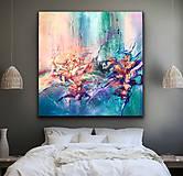 Obrazy - Underwater flowers - 11619248_