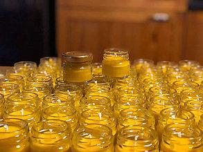 Svietidlá a sviečky - Mini medova svatební - 11618668_