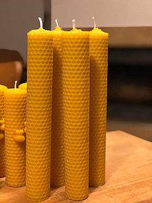 Svietidlá a sviečky - Sada včelích vysokých medzistienok - 11618675_