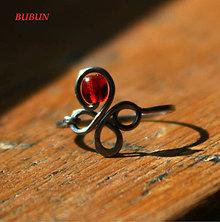 Prstene - Štvorlístkový s karneolem - 11621660_