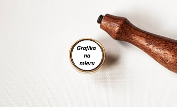 Nezaradené - Grafické spracovanie pečatidla na mieru - 11619514_