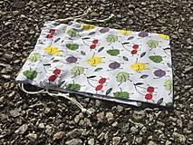 Úžitkový textil - vrecúška-ovocníčkové - 11619405_
