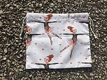 Úžitkový textil - vrecúško-baletky - 11619428_