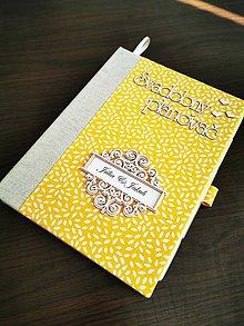 Papiernictvo - Svadobný plánovač - veľkosť A5 - 11619402_