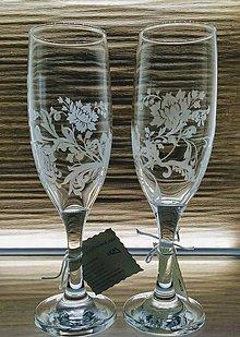 Nádoby - Svadobné poháre, exkluziv, 175ml - 11623242_
