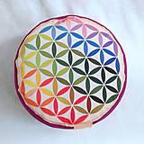 Úžitkový textil - Kvet života - 11621973_