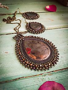 Sady šperkov - Elegant Mirror Drops n.3- sada šperků - 11624993_