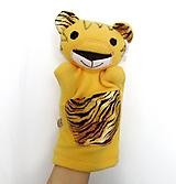 Hračky - Maňuška tiger - 11621949_
