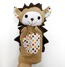 Hračky - Maňuška jež - Ježko z Veselobodkového údolia - 11624857_