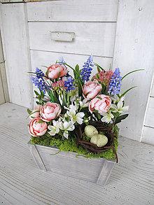 Dekorácie - Jar v kochlíčku - 11622647_