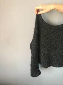 """Svetre/Pulóvre - pulover """" fluffy"""" - 11624252_"""