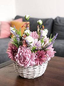 Dekorácie - Kvetinová dekorácia - veľká - 11622875_