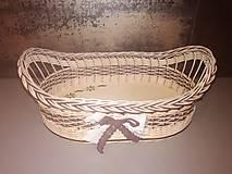 Košíky - Košík s ručkami - 11622155_