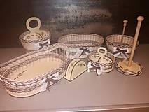 Košíky - Sada do kuchyne - 11622286_