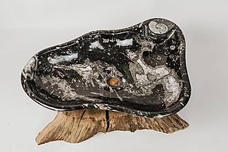Nábytok - Umývadlo zo skamenelín - 11624974_