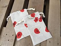 Úžitkový textil - makové vrecúška.... - 11621854_