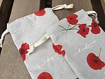 Úžitkový textil - makové vrecúška.... - 11621856_