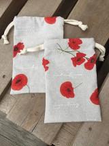 Úžitkový textil - makové vrecúška.... - 11621857_