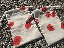 Úžitkový textil - makové vrecúška.... - 11621859_