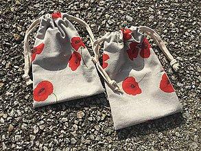 Úžitkový textil - makové vrecúška.... - 11621858_