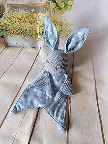Hračky - Mojkáčik zajko pre najmenších - 11625996_