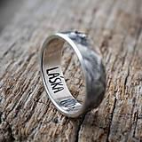 Prstene - Láska hory prenáša ... kusovka - 11626685_