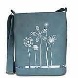 Veľké tašky - 1242 - modrobílá - 11626393_