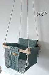 Textil - Hojdačka pre najmenších - 11628531_