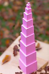 Hračky - Ružová veža - 11625808_