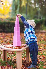 Hračky - Ružová veža - 11625832_