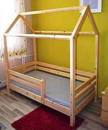 Nábytok - Montessori posteľ- DOMČEK - 11625421_