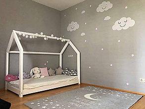 Nábytok - Montessori posteľ- MALÝ DOMČEK - 11625446_