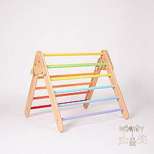 Hračky - Piklerovej triangel PASTELOVÝ (Malý) - 11626886_