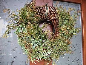 Dekorácie - Wreath for door_veniec na dvere_masívny - 11627633_