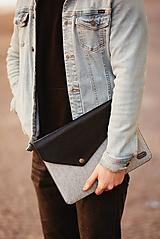 Kožené puzdro na tablet / notebook NOMAD Way čierne