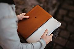 Na notebook - Kožené puzdro na tablet / notebook NOMAD Leather horčicové - 11625511_