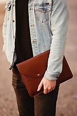 Kožené puzdro na tablet / notebook NOMAD Leather hnedé