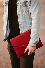 Kožené puzdro na tablet / notebook NOMAD Leather červené